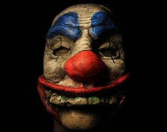 Dangus the Deranged Clown Latex Quarter Mask