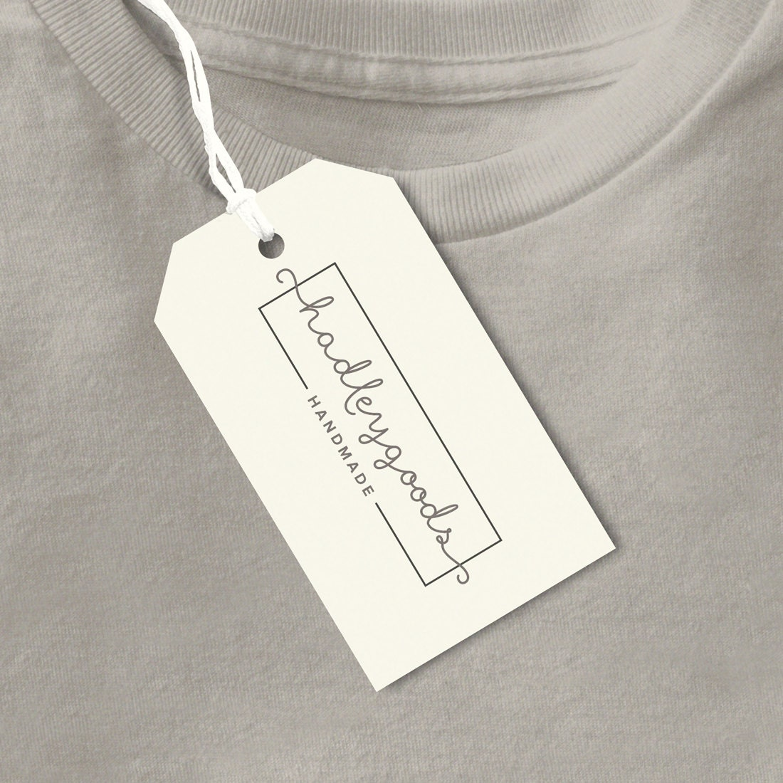 Custom Clothing Tags Handmade Tag Product Label Business