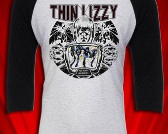 Thin Lizzy Vintage Tee Tour T-shirt Jailbreak 1976