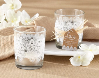 Print of Lace Candle Holder