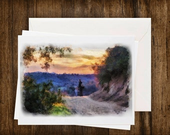 Greeting Cards, Fine Art from photo, Digital Painting from photo