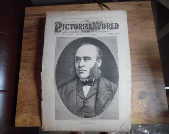 August 18, 1877 The Pictorial World Magazine