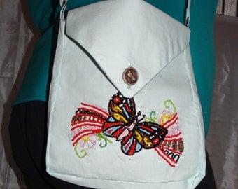 Butterfly Messanger bag