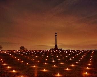 Nightfall at Antietam National Battlefield