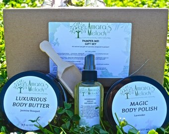 Pamper Me! All Natural Gift Basket