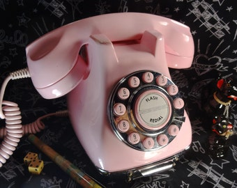 Fifties Pink Drawer Phone