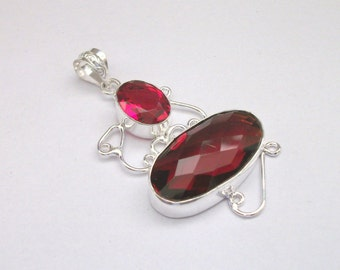 Ruby Quartz pendant