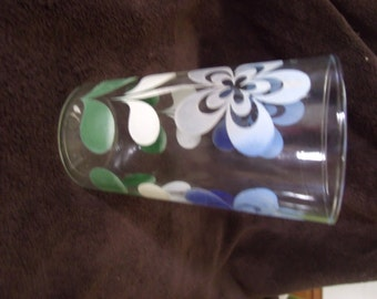 Flower Power Glass