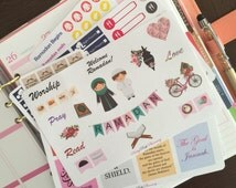 Ramadan Islam Muslim fasting tracker set planner stickers for Erin Condren & other planners, diaries and calendars