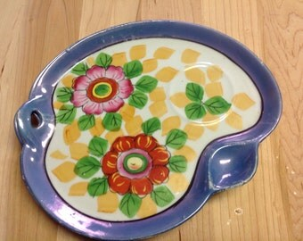 vintage Japanese luncheon plate set