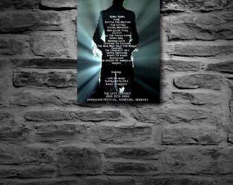 David Bowie the last concert set list
