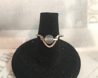 Adjustable Quartz Ring