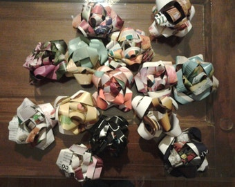 Go green gift bows