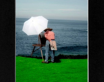 Photo Painter at the Beach
