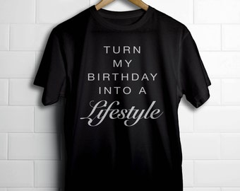 Turn My Birthday into a Lifestyle Drake OVO T-Shirt