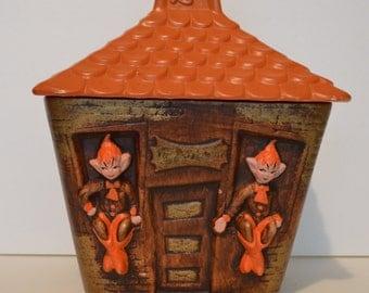 Elf Cookie Jar