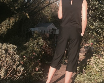 Handmade, relaxed jumpsuit. Casual, comfy and relaxed.