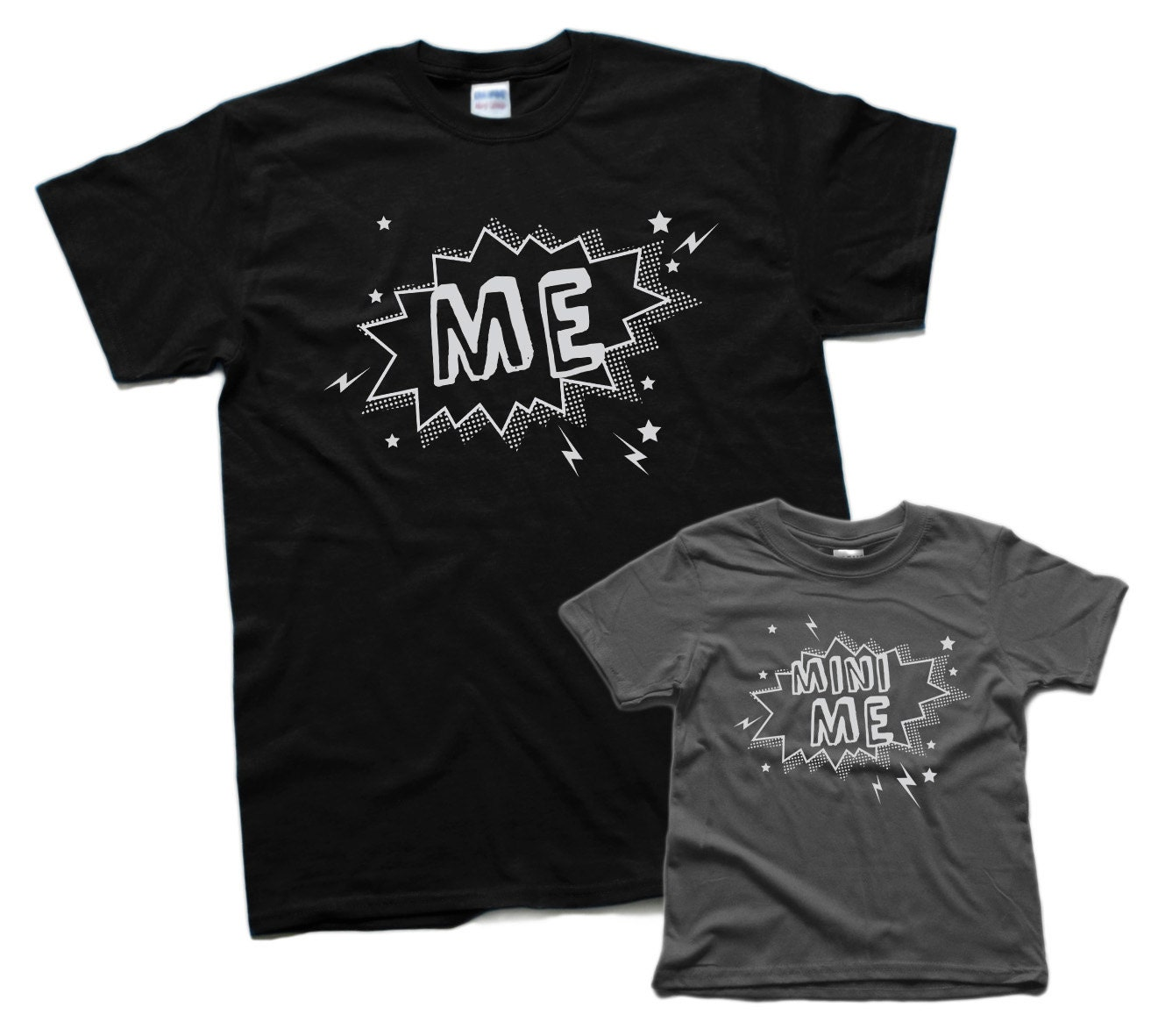 dad gift me and mini me shirts funny dad son shirt set fathers
