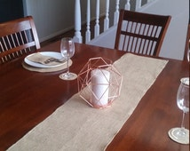 5 x Rustic Burlap Table Runners for weddings, parties, engagements, celebrations, dining tables, buffets etc.