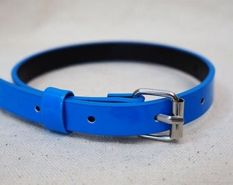 Blue Recycled Bracelet/Cuff for your Scarf
