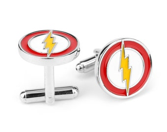 The Flash - Justice League - DC Comics - Cufflinks