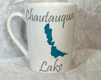 Custom Lake Mug, 14 oz. ceramic mug