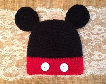 Mickey Mouse Baby/Toddler Hat