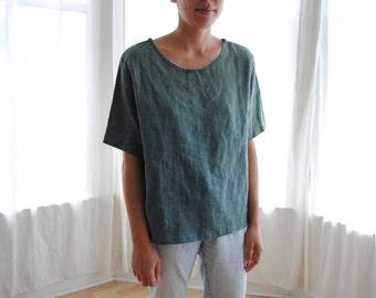 Linen T-Shirt - Women's medium