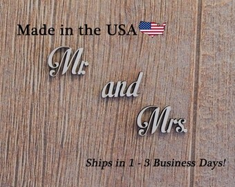 Mr and Mrs, Mr & Mrs, 3 piece set, Wedding Decor, Wedding Gift, Bathroom Decor, Wedding Decorations, His and Hers, Bedroom Wall Art, LW1006