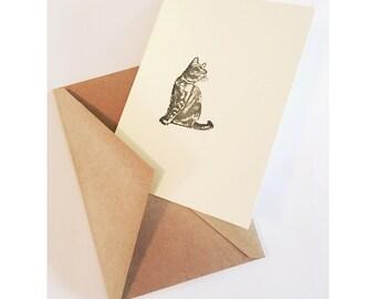 Cat Card Set of 5