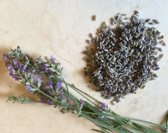 Homegrown Dried Lavender Flowers