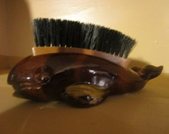 1950/60's whale clothes brush