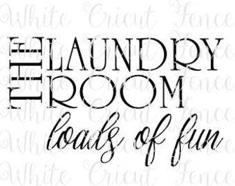 the laundry room loads of fun digital file