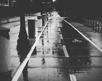 Purdue in the Rain
