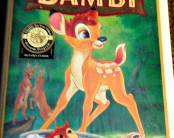 Bambi VHS 55th Anniversary Limited Edition