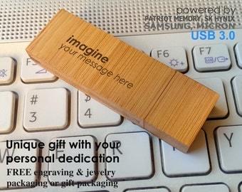 Memory stick 3.0 8~64GB USB Drive,Custom usb,Personalized usb,Handmade,Bamboo usb,Wood usb,Wedding usb,Photobooth usb,usb stick pendrive