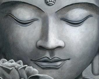 "Yasadhora Buddha 4x4"" print"
