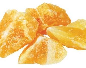 Orange Calcite Raw Stone 1lb