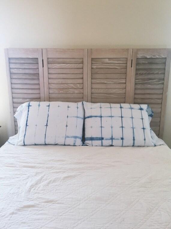 Poolside Pillowcases (Classic Shibori)