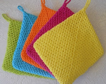 Crochet Double Thick Potholders - Large