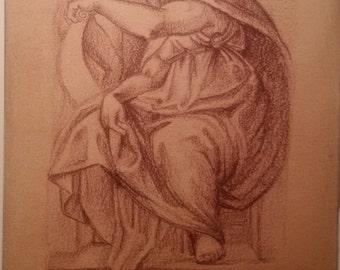 Michelangelo Buonarroti Meduci Chapel of S Lorenzo Sketch