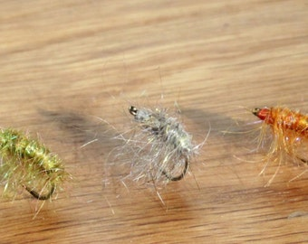 The Zen Scud Trout Fly - Set of Three