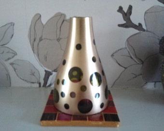 Gold Bubble Tealight Chimney