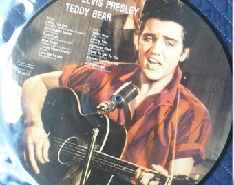Elvis Presly Picture Disc. Disc Like New