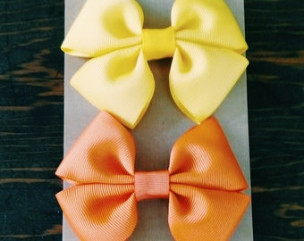 Hair Bow Set, Baby Girl Accessories, Hair Bow, Baby Clip, Baby Girl, Baby Hair Bow