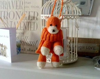 Child's Hand knitted Foxy Baggles