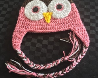 Cute Owl Beanie
