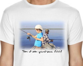 T-shirt personalized with photo