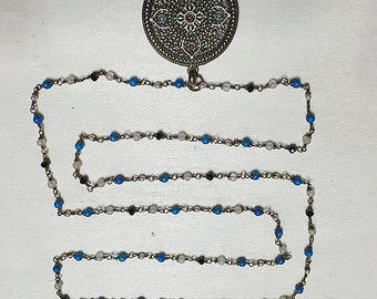 Natural Stone Tibetan Necklace