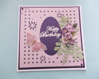 hand made birthday card 1